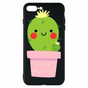 Etui do iPhone 7 Plus Śliczny uśmiechnięty kaktus
