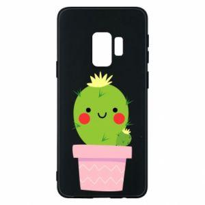 Etui na Samsung S9 Śliczny uśmiechnięty kaktus