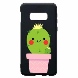 Etui na Samsung S10e Śliczny uśmiechnięty kaktus