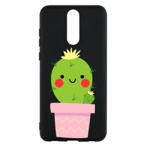 Etui na Huawei Mate 10 Lite Śliczny uśmiechnięty kaktus