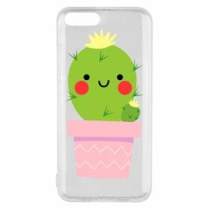 Etui na Xiaomi Mi6 Śliczny uśmiechnięty kaktus