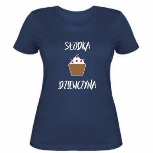Koszulka damska Słodka dziewczyna