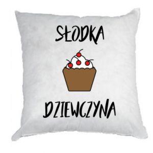 Pillow Sweet Girl! - PrintSalon