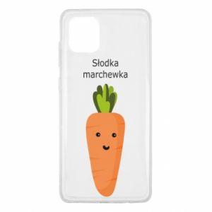 Etui na Samsung Note 10 Lite Słodka marchewka