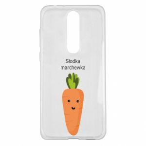 Etui na Nokia 5.1 Plus Słodka marchewka