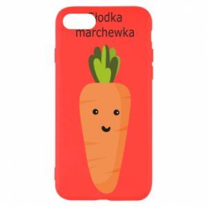 Etui na iPhone SE 2020 Słodka marchewka