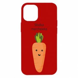 Etui na iPhone 12 Mini Słodka marchewka