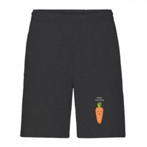 Men's shorts Sweet carrot