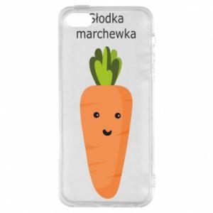 Etui na iPhone 5/5S/SE Słodka marchewka