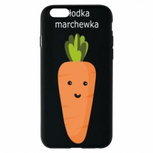 Etui na iPhone 6/6S Słodka marchewka