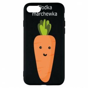 Etui na iPhone 7 Słodka marchewka