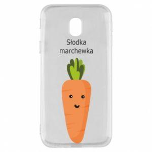 Etui na Samsung J3 2017 Słodka marchewka