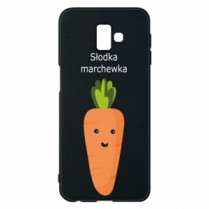 Etui na Samsung J6 Plus 2018 Słodka marchewka