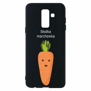 Etui na Samsung A6+ 2018 Słodka marchewka