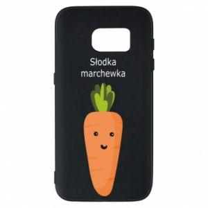 Etui na Samsung S7 Słodka marchewka