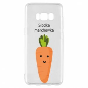 Etui na Samsung S8 Słodka marchewka