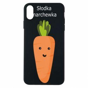 Etui na iPhone Xs Max Słodka marchewka