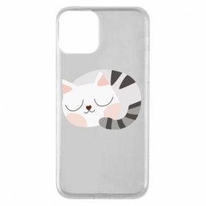 Etui na iPhone 11 Słodki kot