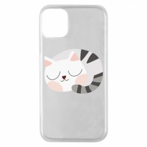 Etui na iPhone 11 Pro Słodki kot