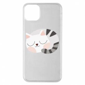 Etui na iPhone 11 Pro Max Słodki kot