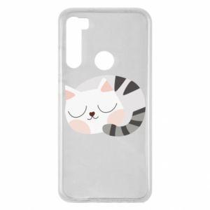 Etui na Xiaomi Redmi Note 8 Słodki kot