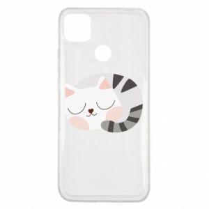 Etui na Xiaomi Redmi 9c Słodki kot