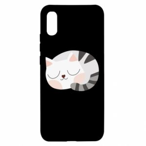 Etui na Xiaomi Redmi 9a Słodki kot