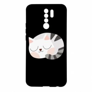 Etui na Xiaomi Redmi 9 Słodki kot