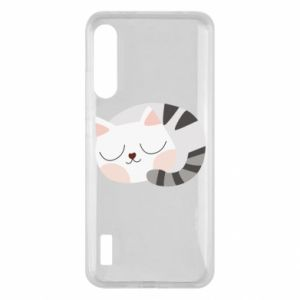 Etui na Xiaomi Mi A3 Słodki kot