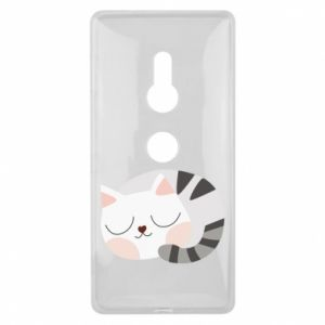 Etui na Sony Xperia XZ2 Słodki kot