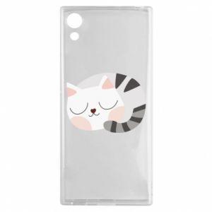 Etui na Sony Xperia XA1 Słodki kot