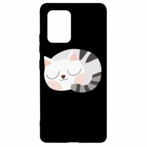 Etui na Samsung S10 Lite Słodki kot