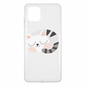 Etui na Samsung Note 10 Lite Słodki kot