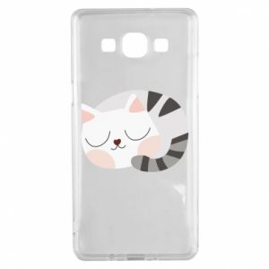 Etui na Samsung A5 2015 Słodki kot