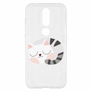 Etui na Nokia 4.2 Słodki kot