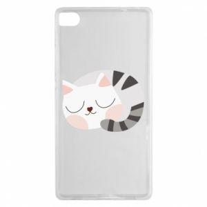 Etui na Huawei P8 Słodki kot