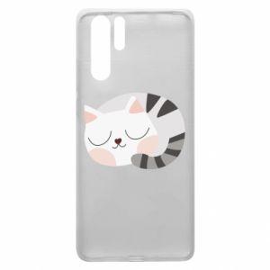 Etui na Huawei P30 Pro Słodki kot