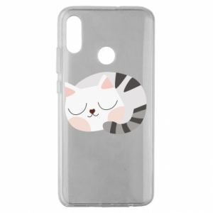 Etui na Huawei Honor 10 Lite Słodki kot