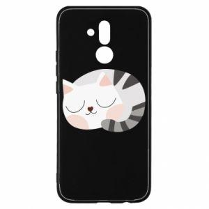 Etui na Huawei Mate 20 Lite Słodki kot