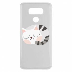 Etui na LG G6 Słodki kot