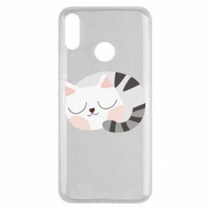 Etui na Huawei Y9 2019 Słodki kot