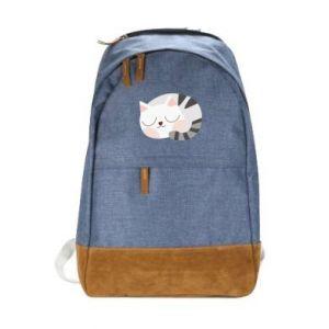 Miejski plecak Słodki kot