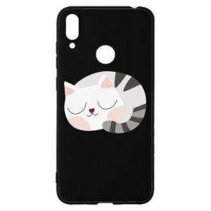 Huawei Y7 2019 Case Sweet cat