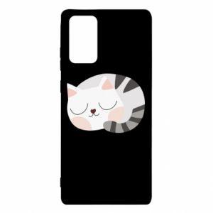 Samsung Note 20 Case Sweet cat