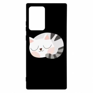 Etui na Samsung Note 20 Ultra Słodki kot