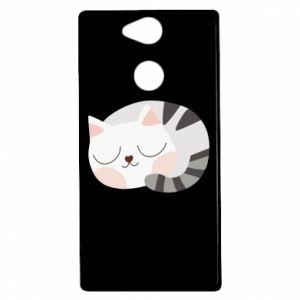 Sony Xperia XA2 Case Sweet cat