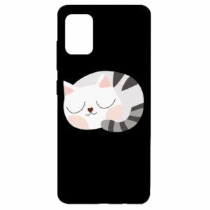 Samsung A51 Case Sweet cat