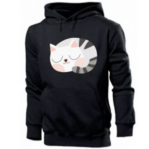 Men's hoodie Sweet cat