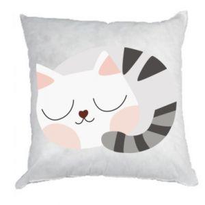 Poduszka Słodki kot