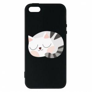 Etui na iPhone 5/5S/SE Słodki kot